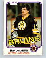 1981-82 O-Pee-Chee #13 Stan Jonathan  Boston Bruins  V29467