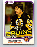 1981-82 O-Pee-Chee #16 Mike Milbury  Boston Bruins  V29493