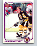 1981-82 O-Pee-Chee #18 Rick Middleton  Boston Bruins  V29501