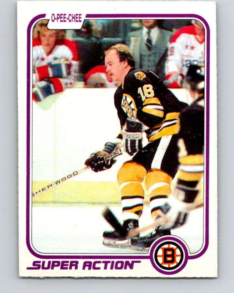 1981-82 O-Pee-Chee #18 Rick Middleton  Boston Bruins  V29503