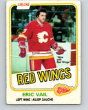 1981-82 O-Pee-Chee #38 Eric Vail  Detroit Red Wings  V29648