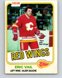 1981-82 O-Pee-Chee #38 Eric Vail  Detroit Red Wings  V29649