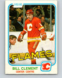 1981-82 O-Pee-Chee #39 Bill Clement  Calgary Flames  V29662