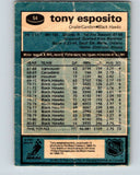 1981-82 O-Pee-Chee #54 Tony Esposito  Chicago Blackhawks  V29782