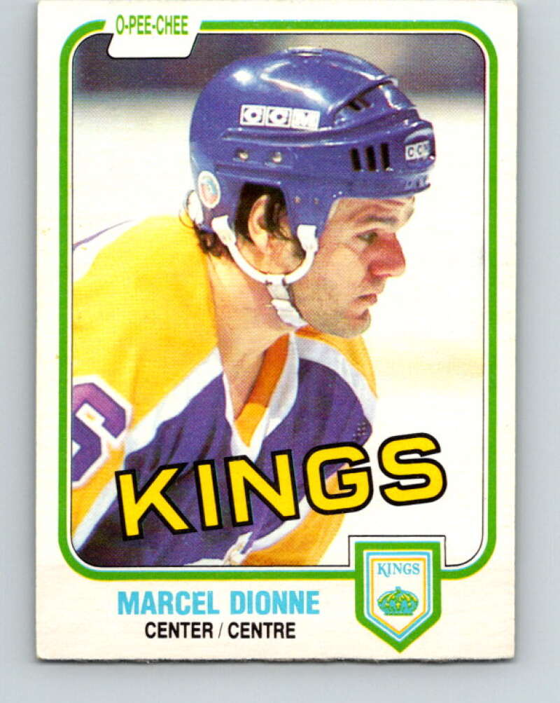 1981-82 O-Pee-Chee #141 Marcel Dionne  Los Angeles Kings  V30447