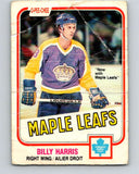 1981-82 O-Pee-Chee #144 Billy Harris  Toronto Maple Leafs  V30466