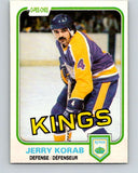 1981-82 O-Pee-Chee #145 Jerry Korab  Los Angeles Kings  V30480