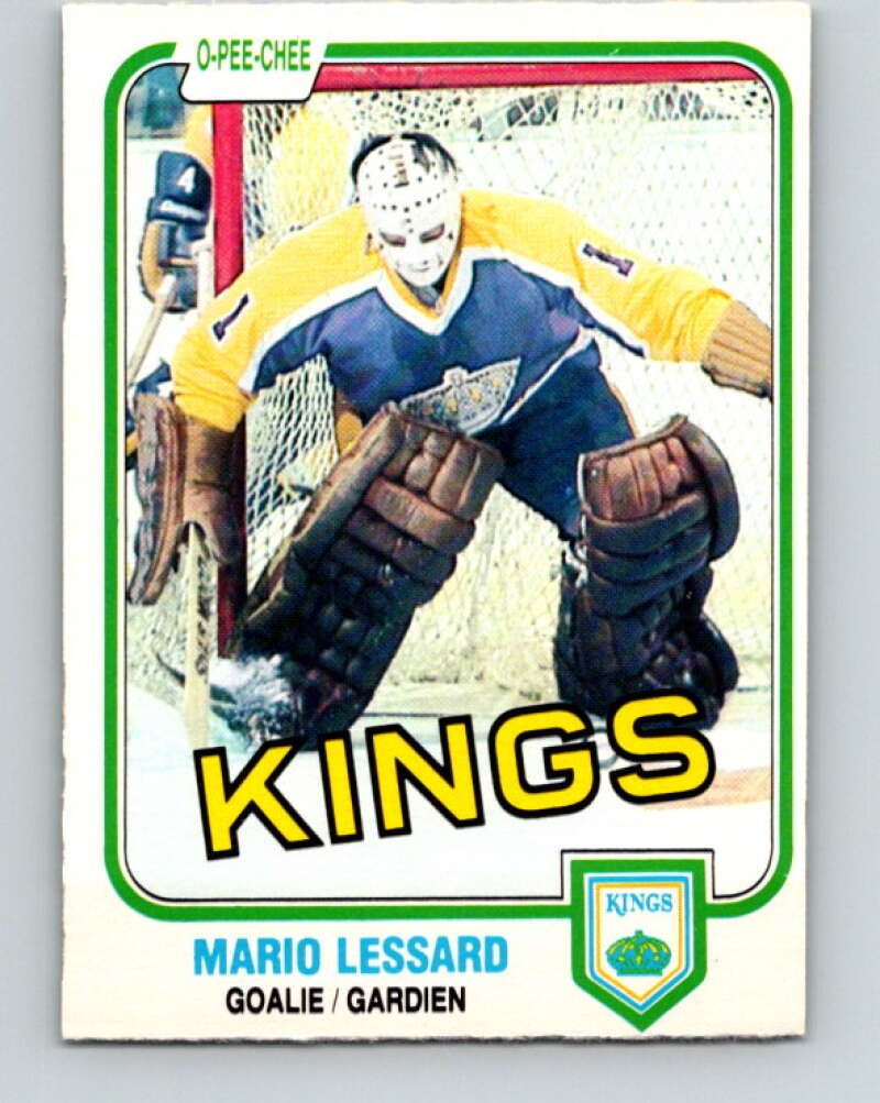 1981-82 O-Pee-Chee #146 Mario Lessard  Los Angeles Kings  V30485