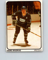 1974-75 Lipton Soup #14 Andre Boudrias  Vancouver Canucks  V32195