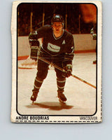 1974-75 Lipton Soup #14 Andre Boudrias  Vancouver Canucks  V32196