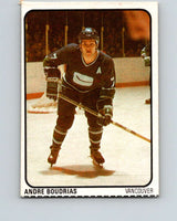 1974-75 Lipton Soup #14 Andre Boudrias  Vancouver Canucks  V32197