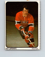 1974-75 Lipton Soup #16 Guy Lapointe  Montreal Canadiens  V32202