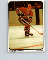 1974-75 Lipton Soup #38 Jacques Lemaire  Montreal Canadiens  V32260