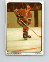 1974-75 Lipton Soup #38 Jacques Lemaire  Montreal Canadiens  V32262