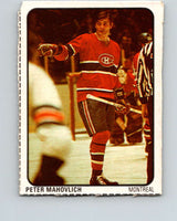 1974-75 Lipton Soup #39 Pete Mahovlich  Montreal Canadiens  V32263
