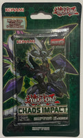 Yu-Gi-Oh! Chaos Impact Booster Sealed Card Game Pack - English Edition