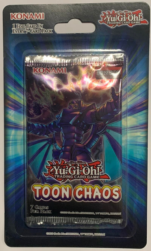 Yu-Gi-Oh! Toon Chaos Booster Sealed Card Game Pack - English Edition