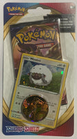 Pokemon Sword & Shield Booster Sealed Booster Pack + Wooloo Card + Coin