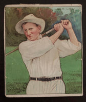1910 Mecca & Hassan Cigarettes George Low Golf Vintage Golf Card V33241