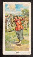 1925 Turf Cigarettes #36 English Ladies Championship Vintage Golf Card V33246