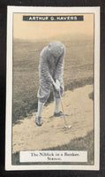 1925 Imperial Tobacco How to Play #17 Niblick Vintage Golf Card V33252