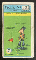 1927 Imperial Tobacco Smokers Game Hole No. 10 Vintage Golf Card V33266