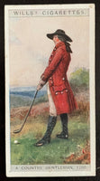 1929 Imperial Tobacco Wills Cigarettes #35 A Country Vintage Golf Card V33269