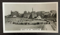 1932 Imperial Tobacco Homeland Events #16 St.Andrews Vintage Golf Card V33271