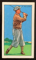 1935 Gallaher Ltd. Cigarettes Champions #33 P. Alliss Vintage Golf Card V33276