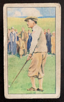 1935 Gallaher Ltd. Cigarettes Champions #1 Michael Scott Vintage Golf Card V33277