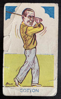 1953 A&J Donaldson Tobacco #323 Henry Cotton Vintage Golf Card V33284