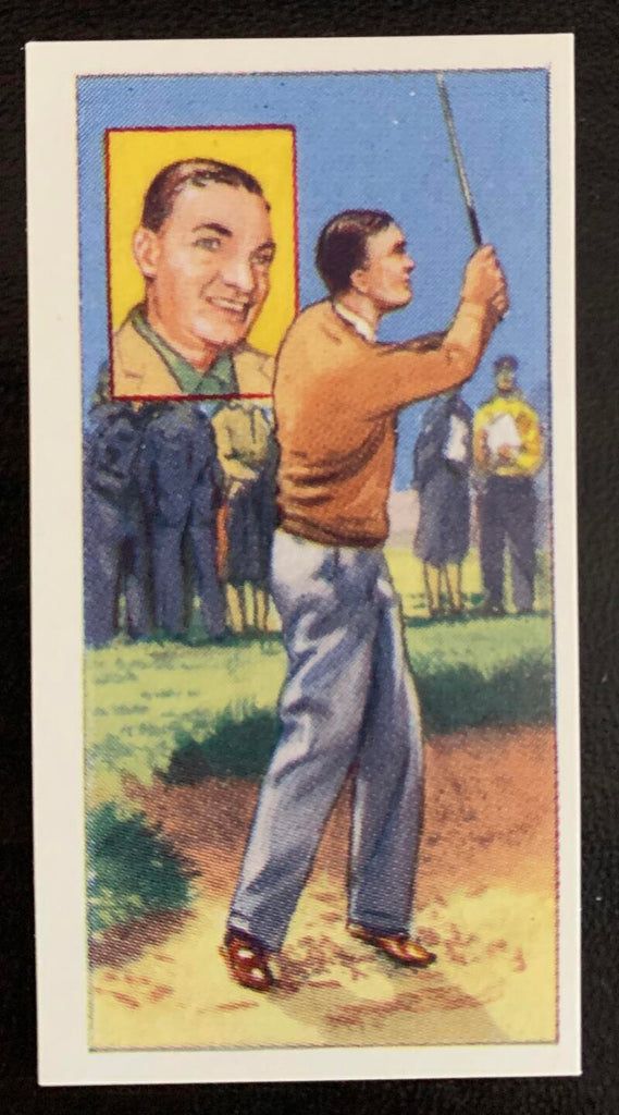 1959 Top Flight Cigarettes Stars #15 Ben Hogan Vintage Golf Card V33286