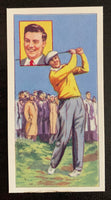 1959 Top Flight Cigarettes Stars #3 Peter Thompson Vintage Golf Card V33287