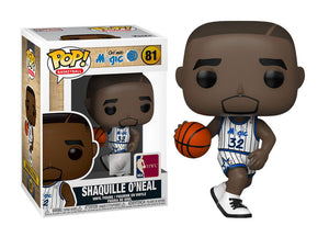 Funko Pop - 81 NBA Basketball - Shaquille O'Neal Magic Vinyl Figure