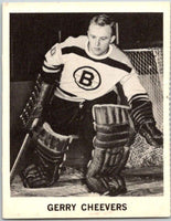 1965-66 Coca-Cola #1 Gerry Cheevers  Boston Bruins  X0001