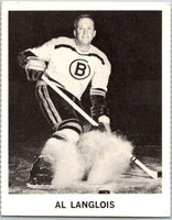 1965-66 Coca-Cola #2 Albert Langlois  Boston Bruins  X0002