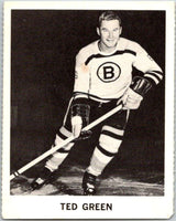 1965-66 Coca-Cola #3 Ted Green  Boston Bruins  X0003