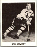 1965-66 Coca-Cola #4 Ron Stewart  Boston Bruins  X0005