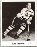 1965-66 Coca-Cola #4 Ron Stewart  Boston Bruins  X0006