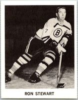 1965-66 Coca-Cola #4 Ron Stewart  Boston Bruins  X0007