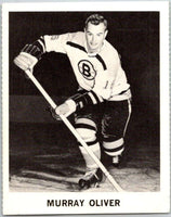 1965-66 Coca-Cola #9 Murray Oliver  Boston Bruins  X0014