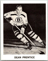 1965-66 Coca-Cola #10 Dean Prentice  Boston Bruins  X0015
