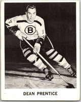 1965-66 Coca-Cola #10 Dean Prentice  Boston Bruins  X0016