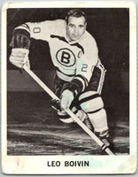 1965-66 Coca-Cola #13 Leo Boivin  Boston Bruins  X0019