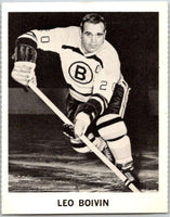 1965-66 Coca-Cola #13 Leo Boivin  Boston Bruins  X0020