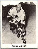 1965-66 Coca-Cola #20 Doug Mohns  Chicago Blackhawks  X0029
