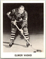 1965-66 Coca-Cola #22 Elmer Vasko  Chicago Blackhawks  X0033