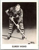 1965-66 Coca-Cola #22 Elmer Vasko  Chicago Blackhawks  X0035