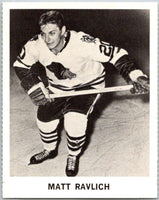 1965-66 Coca-Cola #23 Matt Ravlich  Chicago Blackhawks  X0036