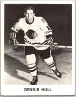 1965-66 Coca-Cola #27 Dennis Hull  Chicago Blackhawks  X0038